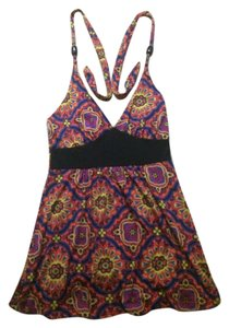 Multi Color Halter Top