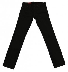 AG Adriano Goldschmied Straight Leg Jeans-Black