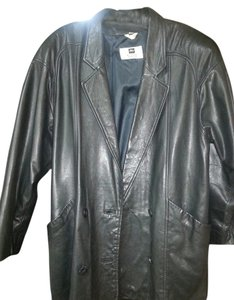Morgan Taylor black Leather Jacket