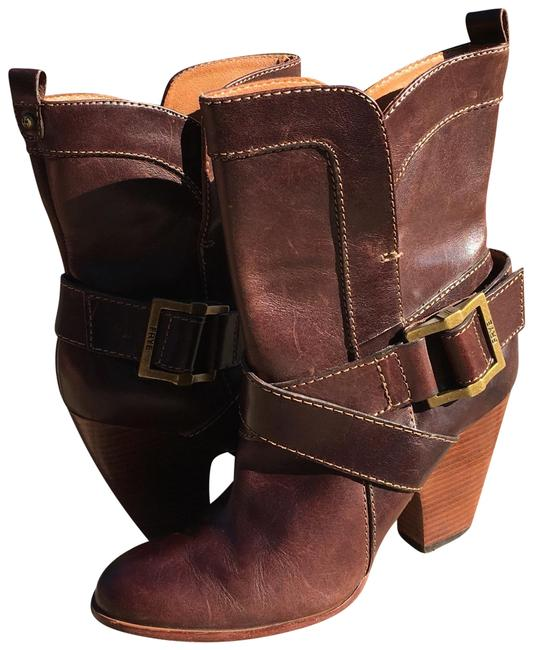 Item - Brown Andrea Mid Boots/Booties Size US 7.5 Regular (M, B)
