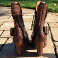 Frye Brown Andrea Mid Boots/Booties Size US 7.5 Regular (M, B) Frye Brown Andrea Mid Boots/Booties Size US 7.5 Regular (M, B) Image 2