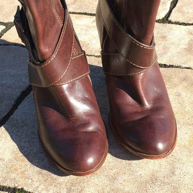 Frye Brown Andrea Mid Boots/Booties Size US 7.5 Regular (M, B) Frye Brown Andrea Mid Boots/Booties Size US 7.5 Regular (M, B) Image 7