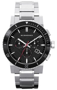Burberry Burberry Chronograph Stainless Steel Bracelet 42mm BU9380