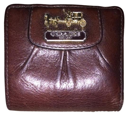 Preload https://item1.tradesy.com/images/coach-brown-small-chocolate-wallet-2240635-0-0.jpg?width=440&height=440