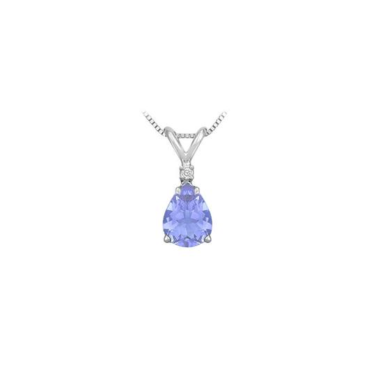 Preload https://img-static.tradesy.com/item/22406428/blue-silver-cubic-zirconia-and-created-tanzanite-solitaire-pendant-925-sterling-necklace-0-0-540-540.jpg