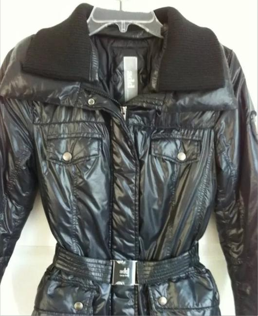 Add Down Light Weight Puffer Glossy Buckle Coat Image 1