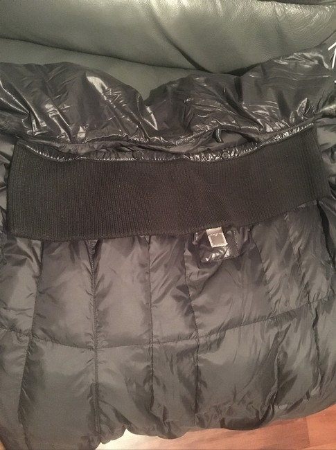 Add Down Light Weight Puffer Glossy Buckle Coat Image 2
