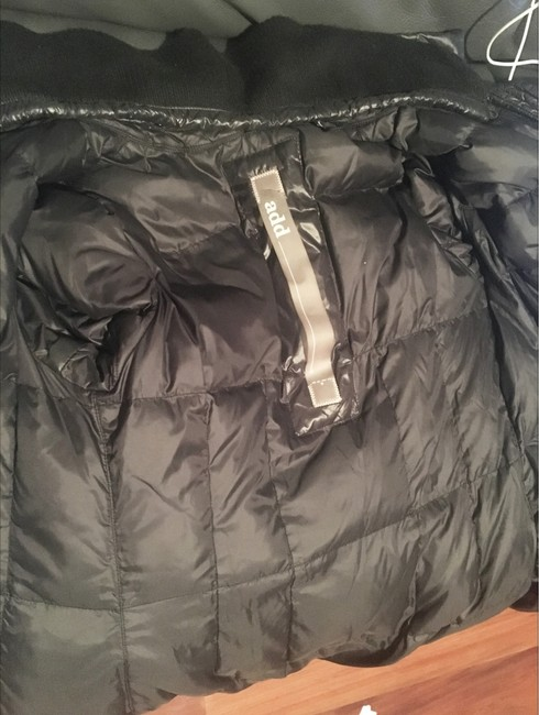 Add Down Light Weight Puffer Glossy Buckle Coat Image 3