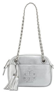 a09a68439b06 Silver Tory Burch Shoulder Bags - Up to 90% off at Tradesy