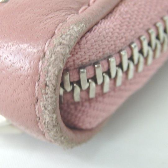 Jimmy Choo [authentic] JIMMY CHOO Round Zip purse wallet Image 3