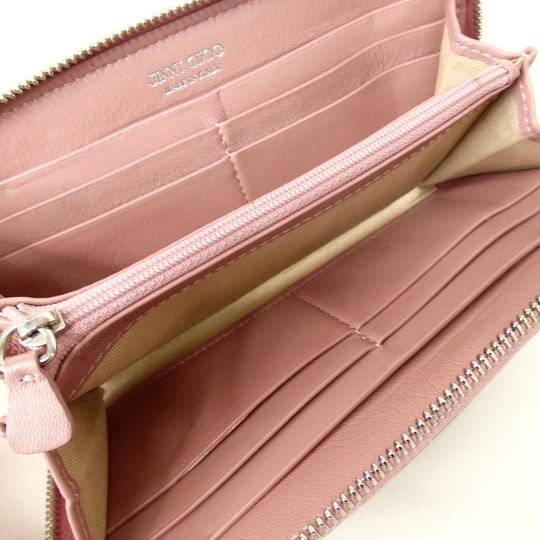 Jimmy Choo [authentic] JIMMY CHOO Round Zip purse wallet Image 5