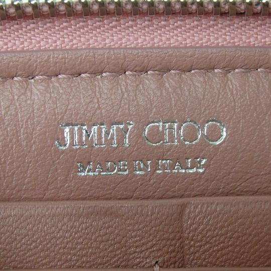 Jimmy Choo [authentic] JIMMY CHOO Round Zip purse wallet Image 6