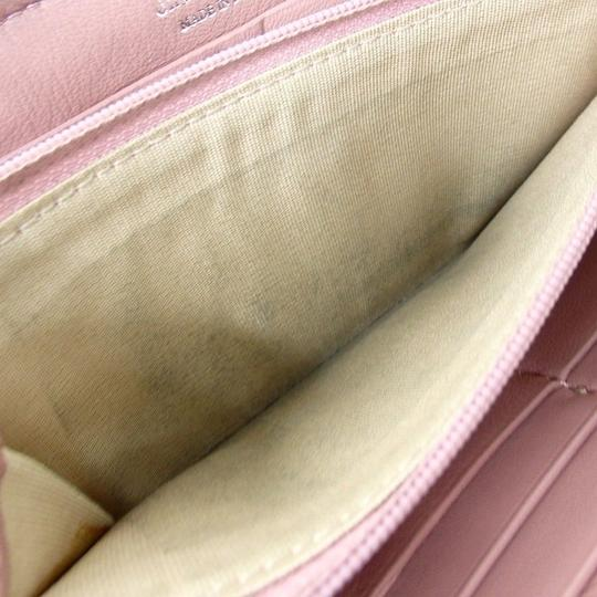 Jimmy Choo [authentic] JIMMY CHOO Round Zip purse wallet Image 7