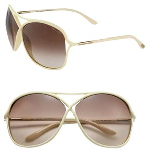 Tom Ford Tom Ford Eyewear Vicky Oversized Oval Acetate Sunglasses