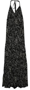 Black and White Maxi Dress by Express Floral Maxi