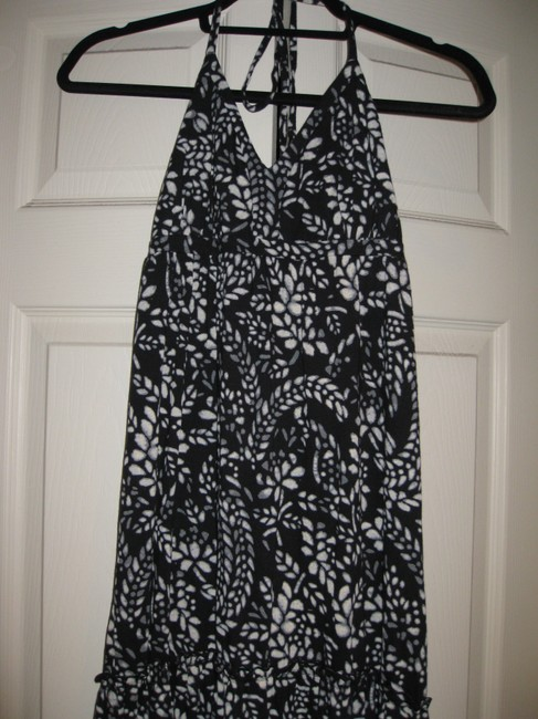 Black and White Maxi Dress by Express Floral Maxi Cotton