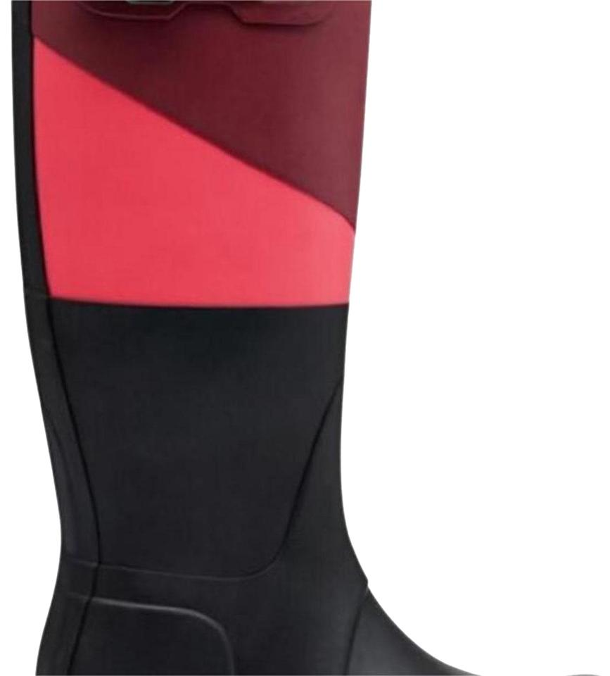 Ladies of Hunter Red/Pink Boots/Booties The first set of Ladies comprehensive specifications for customers b2bbc0