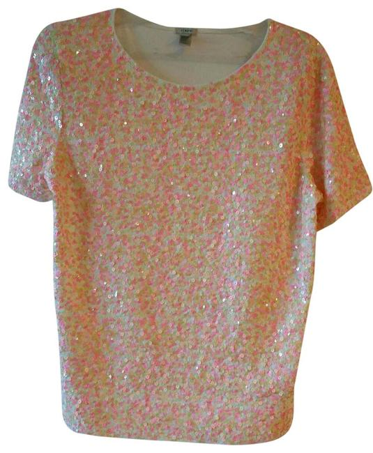 Item - Multi Confetti Pinks Cluster Sequin #17970 Tee Shirt Size 2 (XS)