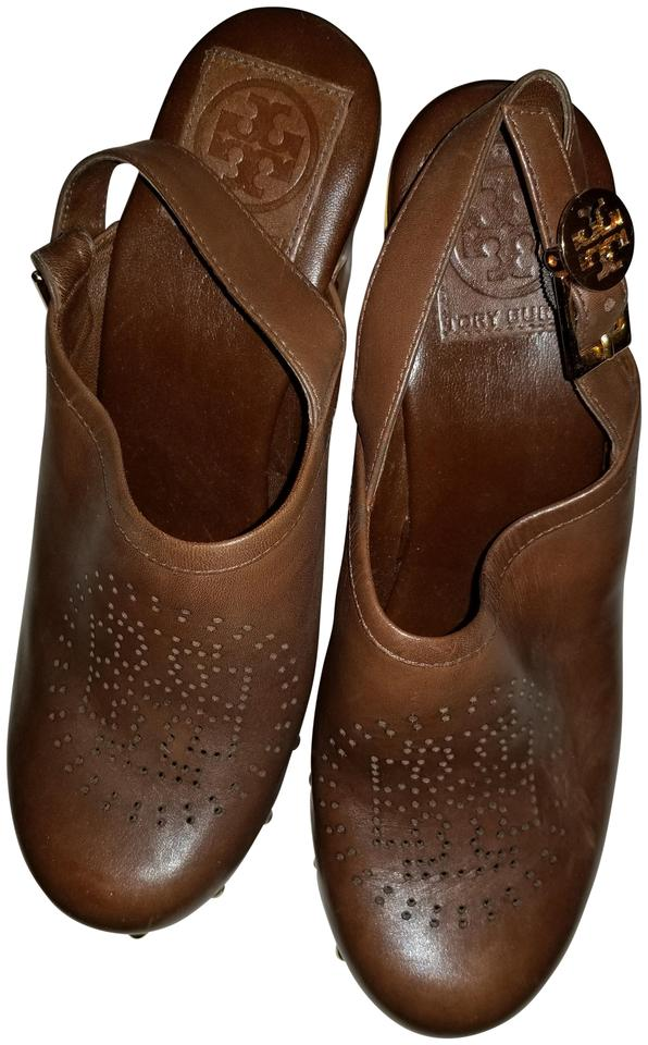 WOMEN Tory Tory WOMEN Burch Brown Mules/Slides economy a72390