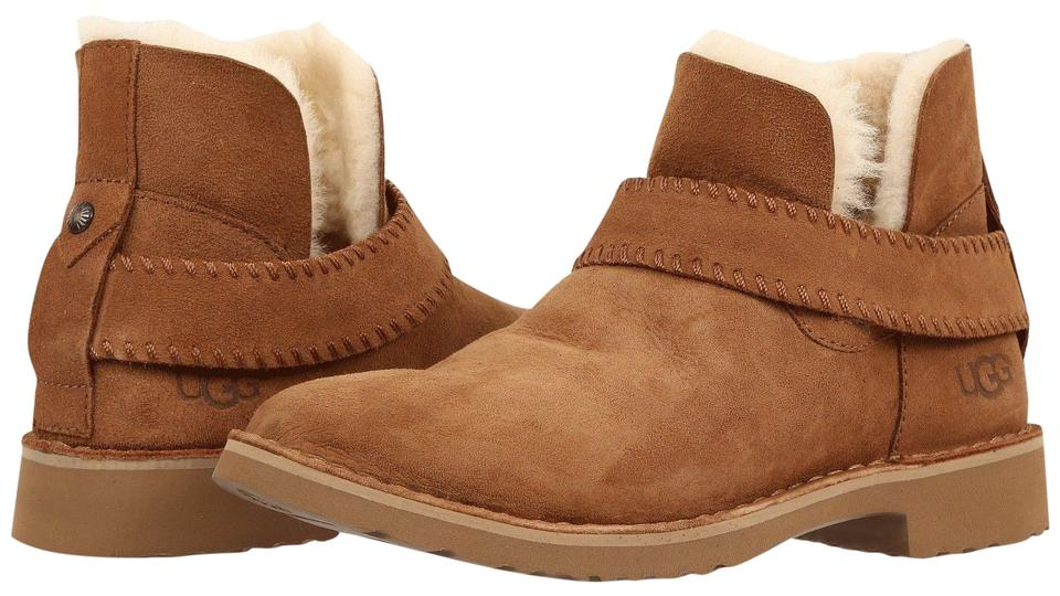 42248b2e4eb UGG Australia Chestnut Women's Mckay Fixed Strap Suede Ankle 1012358  Boots/Booties Size US 9 Regular (M, B) 2% off retail