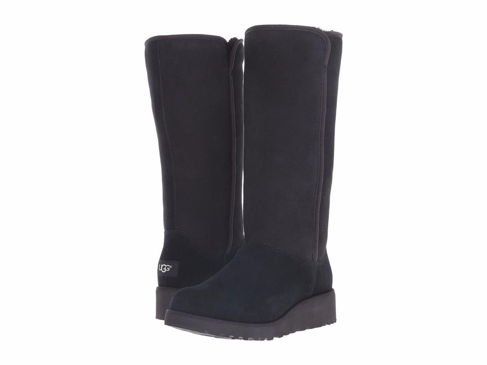 06781a63b55 UGG Australia Black Women's Classic Slim Kara Tall 1013429 Boots/Booties  Size US 8.5 Regular (M, B)