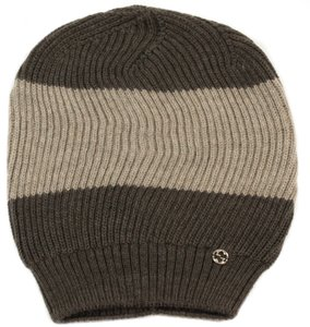 Gucci GUCCI Men's 310777 Interlocking G Ski Beanie Hat, One Size