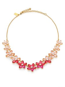 Kate Spade New Kate Spade Ombre Bouquet Necklace NWT Pink Beauty