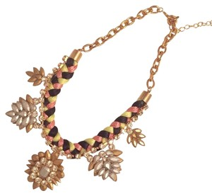 A.B.S. by Allen Schwartz Bold Gold ABS Necklace! Super Chic!