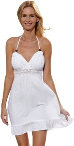 Lirome short dress White Resort Nautica Summer on Tradesy