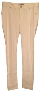 Other Studded Soft Stretch Spandex Skinny Pants off white