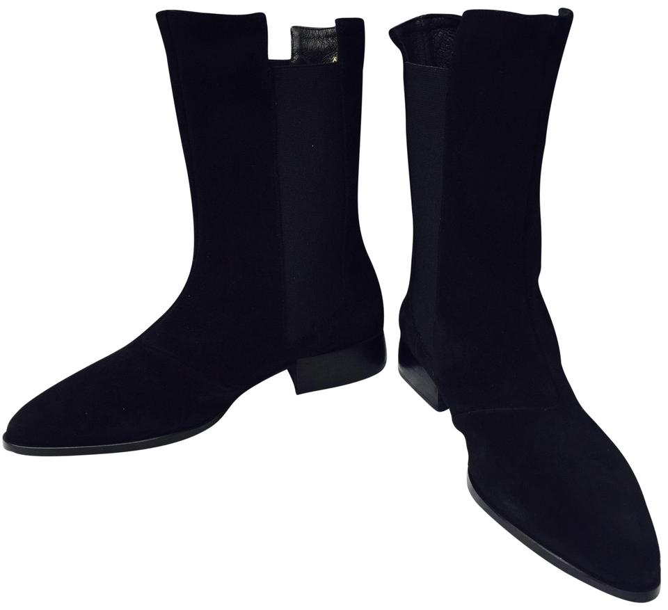 Andre Assous Boots/Booties Black Women's Pelle Chelsea Boots/Booties Assous 7e6bfd
