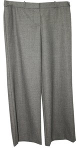 Chlo Made In France Wool Straight Pants GRAY