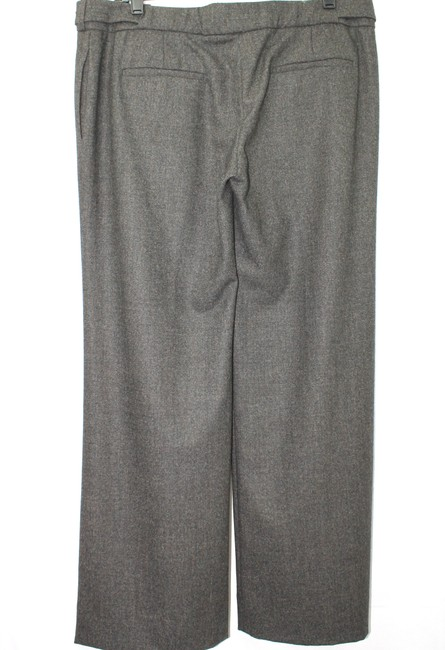 Chloé Made In France Wool Dress 12 Straight Pants GRAY