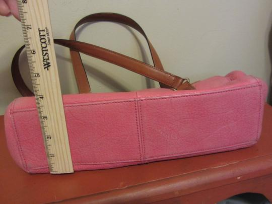 Fossil Satchel in Pink