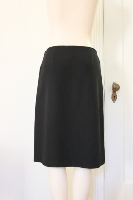 J.Crew Pencil Theory Renta Herrera Skirt BLACK
