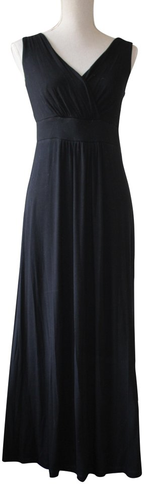 boden black classic long casual maxi dress size 8 m tradesy. Black Bedroom Furniture Sets. Home Design Ideas