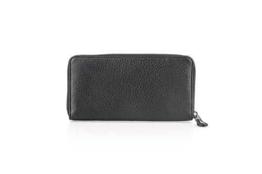 Coach * Coach Accordion Zip Wallet In Refined Natural Pebble Leather