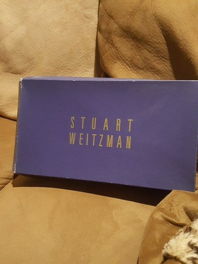 Stuart Weitzman Gold Glotexas Formal Size US 10 Regular (M, B)