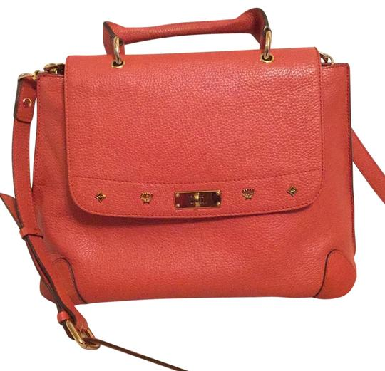 Preload https://img-static.tradesy.com/item/22410032/mcm-satchel-orange-leather-cross-body-bag-0-4-540-540.jpg