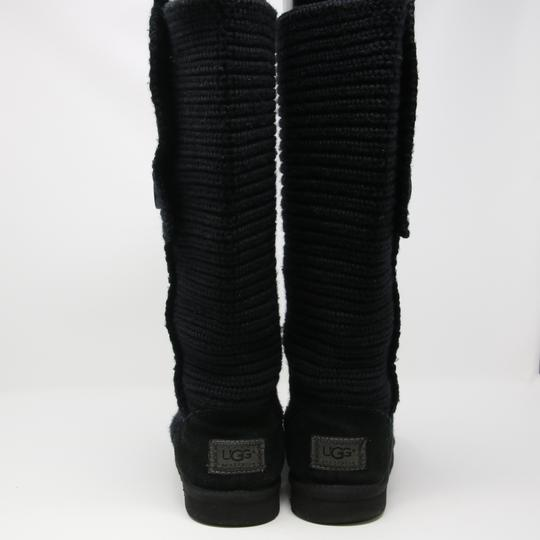 UGG Australia Uggs Snow Winter Argyle Holiday Black Boots