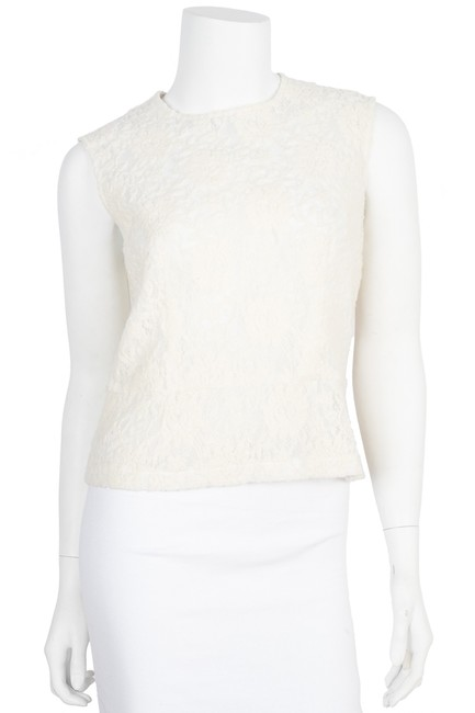 Preload https://img-static.tradesy.com/item/22410100/comme-des-garcons-ivory-lace-sleeveless-blouse-size-6-s-0-0-650-650.jpg