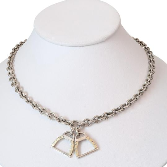 Preload https://img-static.tradesy.com/item/22410353/sterling-silver-18k-gold-by-sarah-jane-churchhill-downs-horseshoe-charm-necklace-0-4-540-540.jpg