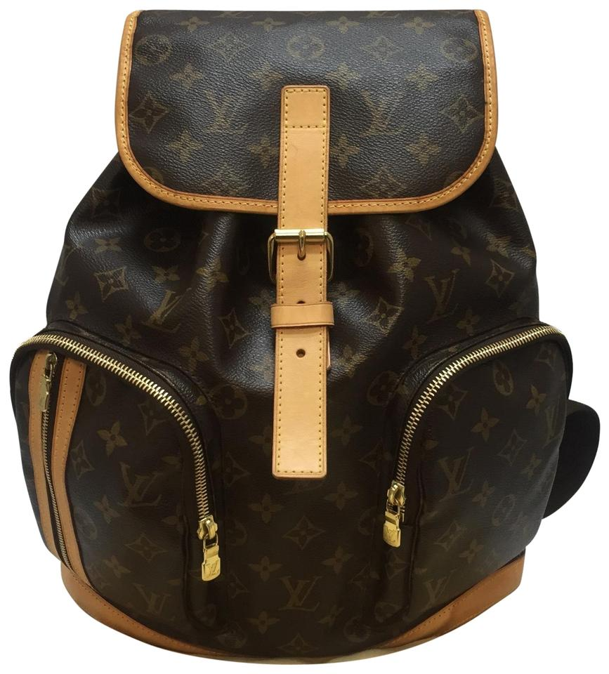Louis Vuitton Bosphore Monogram  Discontinued and Sold Out with Dustbag  Brown Canvas Backpack 18% off retail