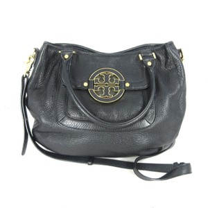 Tory Burch Leather Gold Cross Body Bag