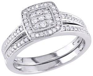 Halo Diamond Ring Halo Diamond Ring 1/4 CT