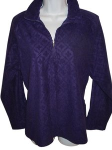 Lands' End Plus-size 1/4 Zip Fleece 0x Tunic