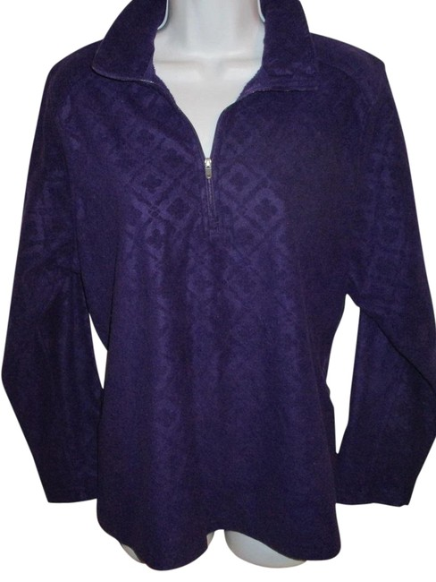 Preload https://img-static.tradesy.com/item/22410572/lands-end-purple-14-zip-fleece-0x-tunic-size-16-xl-plus-0x-0-3-650-650.jpg