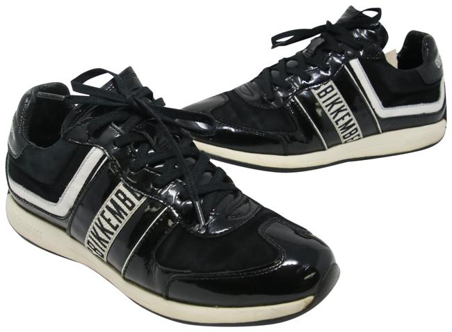 Item - Black Signature Patent Leather Low Top Suede Sneakers Size US 9 Regular (M, B)