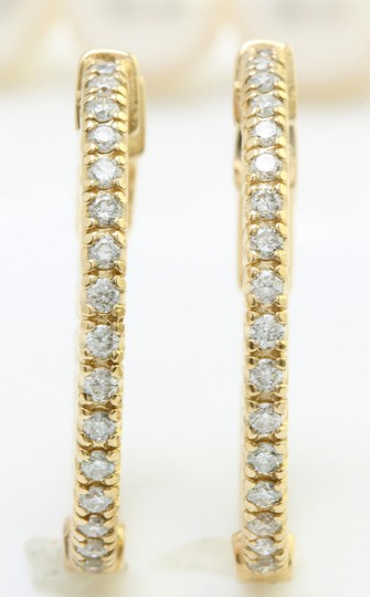 Other 1.18CTW Natural VS2 Diamonds in 14K Solid Yellow Gold Women Earrings