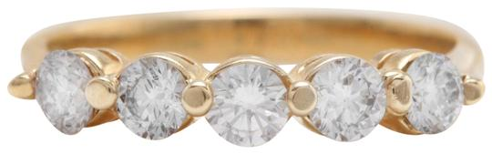 Other .90CTW Natural VS2 G-H DIAMONDS in 14K Solid Yellow Gold Women Ring